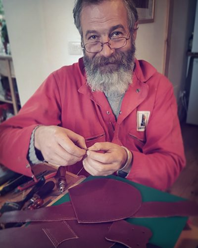 The Kilt Experience Sporranmaker, Handstitched Leather Sporrans